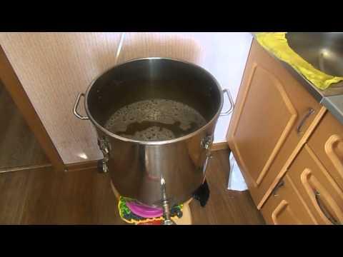 Варим Пшеничное пиво в кастрюле. Часть 1 - приготовление сусла
