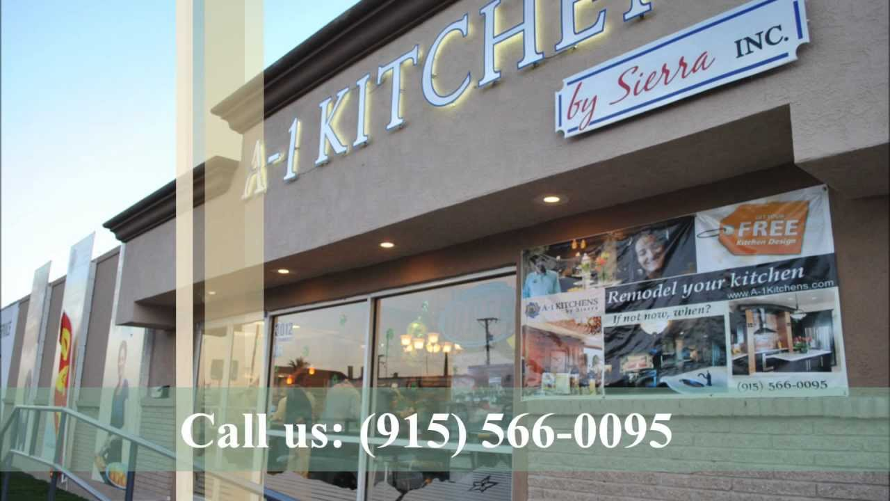 A 1 Kitchens By Sierra Kitchen Cabinets In El Paso
