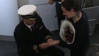Pilot gives a personal flight surprise
