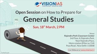 How to Prepare for General Studies 2019