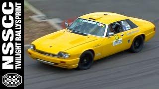 V12 Jaguar XJS Rallying