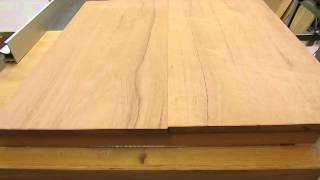 Townsend Card Table   Planing Shaping Table Top   Step 26