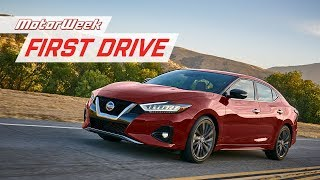 2019 Nissan Maxima | First Drive