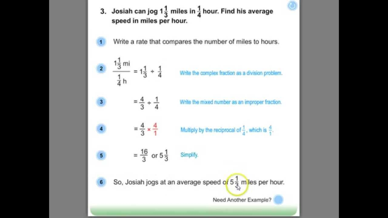 Free Math Worksheets Complex Fractions - complex fractions ...
