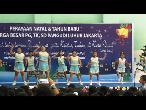 Cheerleader SD Pangudi Luhur Januari 2017