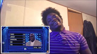 Shaq and Charles Barkley's EPIC Fast Money! | Celebrity Family Feud *Reaction *