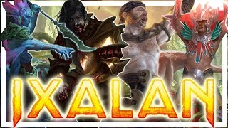 RACES + FACTIONS of IXALAN!!!