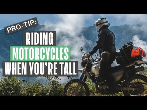 A Short Video About Tips for Tall Motorcycle Riders