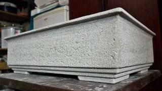 Papercrete Pots