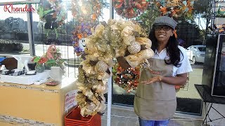 Divalicious Candy Cane Wreath Tutorial