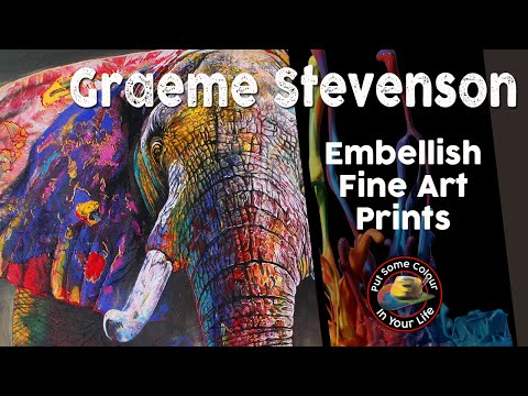 Fine Art Tips with Graeme Stevenson on Colour In Your Life
