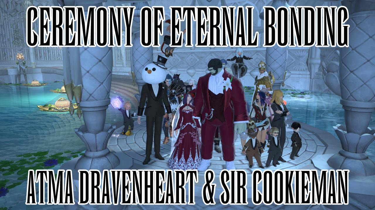 how to add code from ceremony of eternal bonding ffxiv