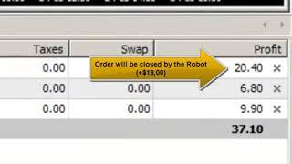 Forex PENTIUM Robot 1-DAY Performance