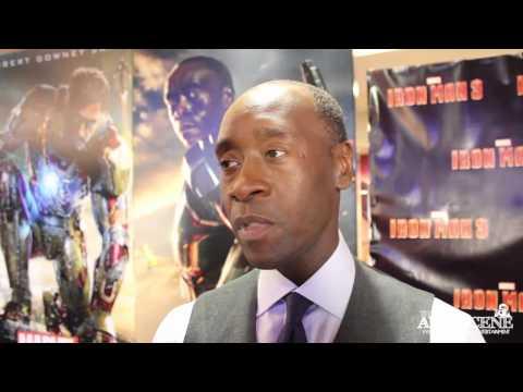Iron Man 3 Premiere: Interview with Don Cheadle (Iron Patriot, War Machine)
