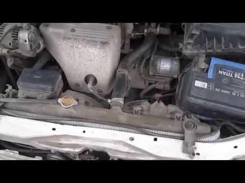 Замена дизеля на бензин 2CT 3SFE Toyota Carina 210