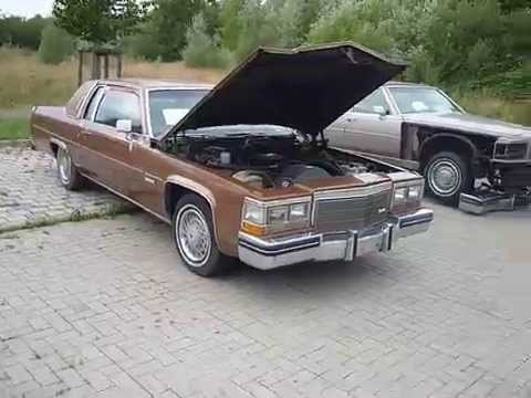 Cadillac Coupe Deville 1983 Ht4100 Engine Running First