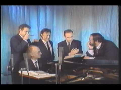 The Three Tenors  Rare footage singing Marechiare