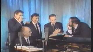 "The Three Tenors - Rare footage singing ""Marechiare"""