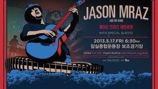Download Lagu 'I won't give up' - Jason Mraz Live in Seoul, Korea 2013 By 4District.com mp3