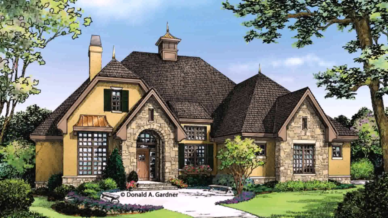 European Style House Plans With Photos (see Description