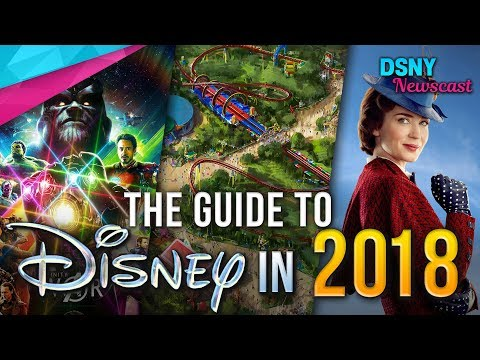 THE 2018 GUIDE To Disney Parks & Movies in 2018 - Disney News - 1/02/18