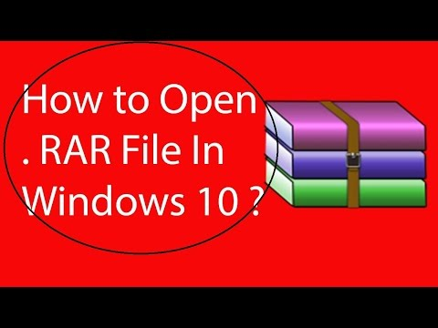 Windows 10'da RAR Dosyası Nasıl Açılır?