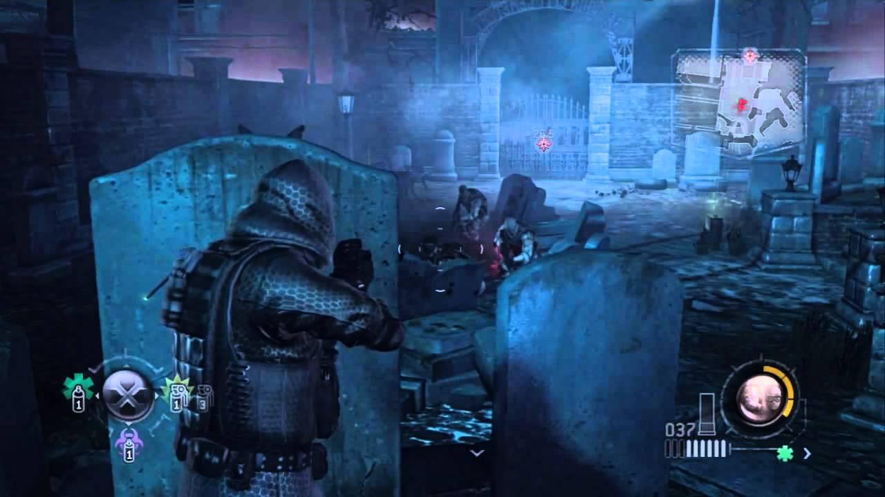 Hasil gambar untuk resident evil operation racoon city cemetery
