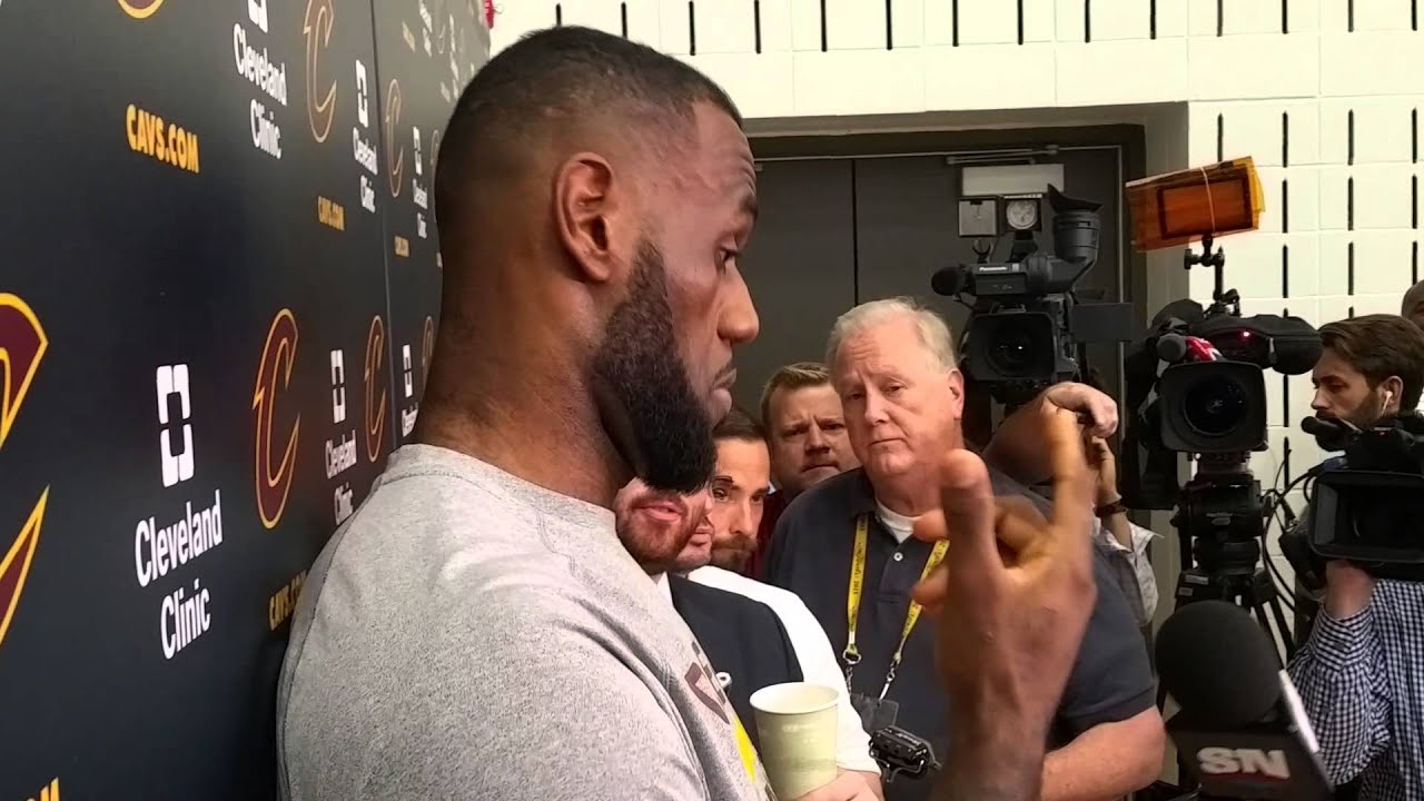 029a006c680 NBA Finals  LeBron James talks about why he honored Browns legend Jim Brown