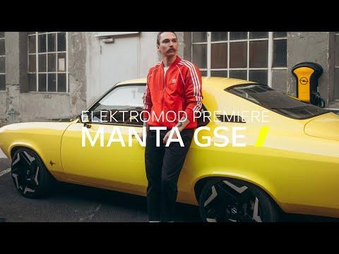 First ElektroMOD: Opel Manta GSe Premiere