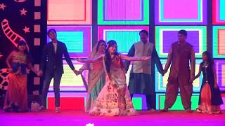 PRAYANU MAYKA.COM || BRIDE DANCE PERFOMANCE WITH FAMILY || PRATIK + PRAYANU SANGEET CEREMONY