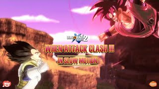 When Melee Attack Clash in Slow Motion | Dragonball Xenoverse 2