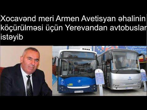 Мэр Мартуни Армен Аветисян попросил автобусы из Еревана для эвакуации населения