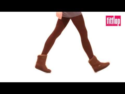 FitFlop - Mukluk Short Boot - Chocolate