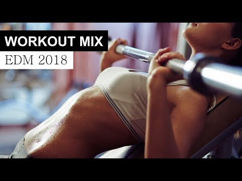Workout Motivation Mix 2018  EDM House Electro Music
