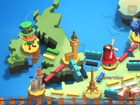 Ticket to Ride: First Journey - Gameplay (iPadstory.ru) |