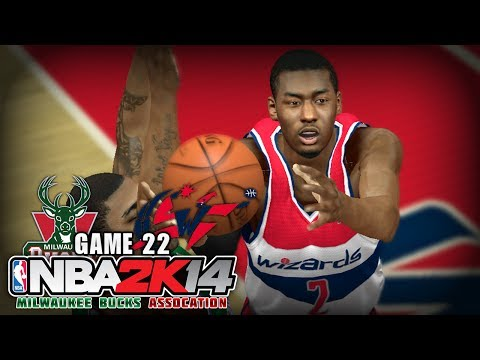 NBA 2K14 Milwaukee Bucks Association | Game 22 - at Washington Wizards