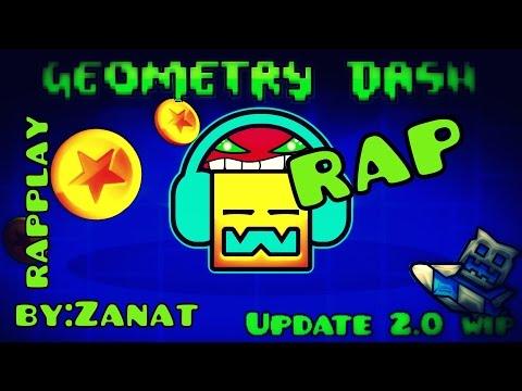 GEOMETRY DASH EPIC RAP || GMV GEOMTRY DASH || RAPPLAY || ZANAT