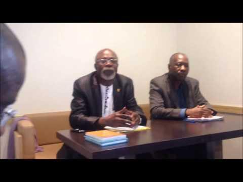 """LES ASSISES NATIONALES DU  CONGO  «CONTRE LES PROJETS DE PRESIDENT  """"A VIE"""""""