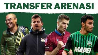 TRANSFER ARENASI | Alex, Fenerbahçe'ye geri mi dönüyor? | Trabzon'da gözler Sörl