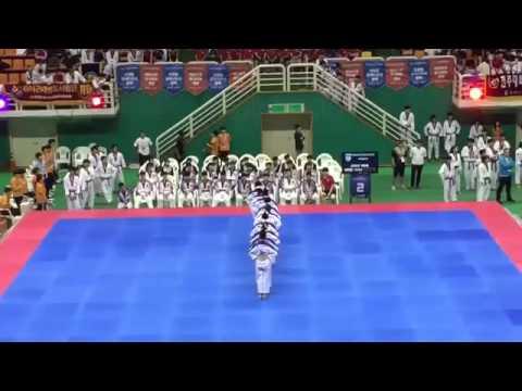 2015 taekwondo aerobics females