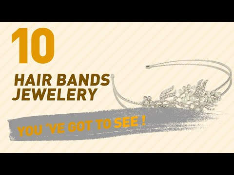 Hair Bands Jewelery Collection For Women // UK New & Popular 2017