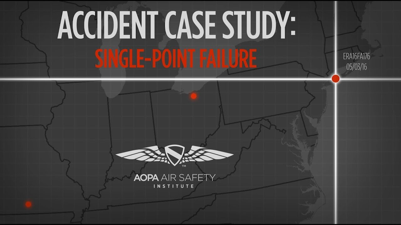 aopa accident case study delayed reaction