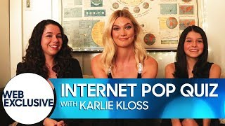 Internet Pop Quiz: Karlie Kloss