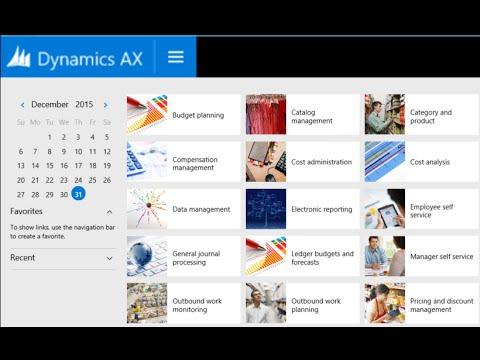Part 1 - Microsoft Dynamics AX - Basic Setup