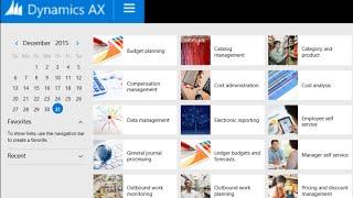 جزء 1 - Microsoft Dynamics AX - الإعداد الأساسي