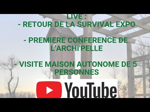 Debriefing : Survival Expo, première conférence et visite de maison autonome