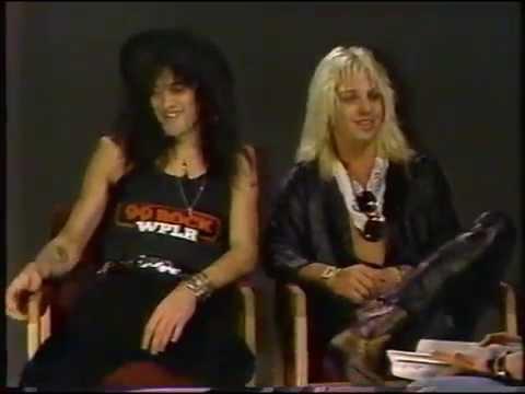 Wendy O. Williams Interviewing Mötley Crüe on Radio 1990 (1985)