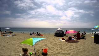 Zuma Beach Ca. Time Lapse