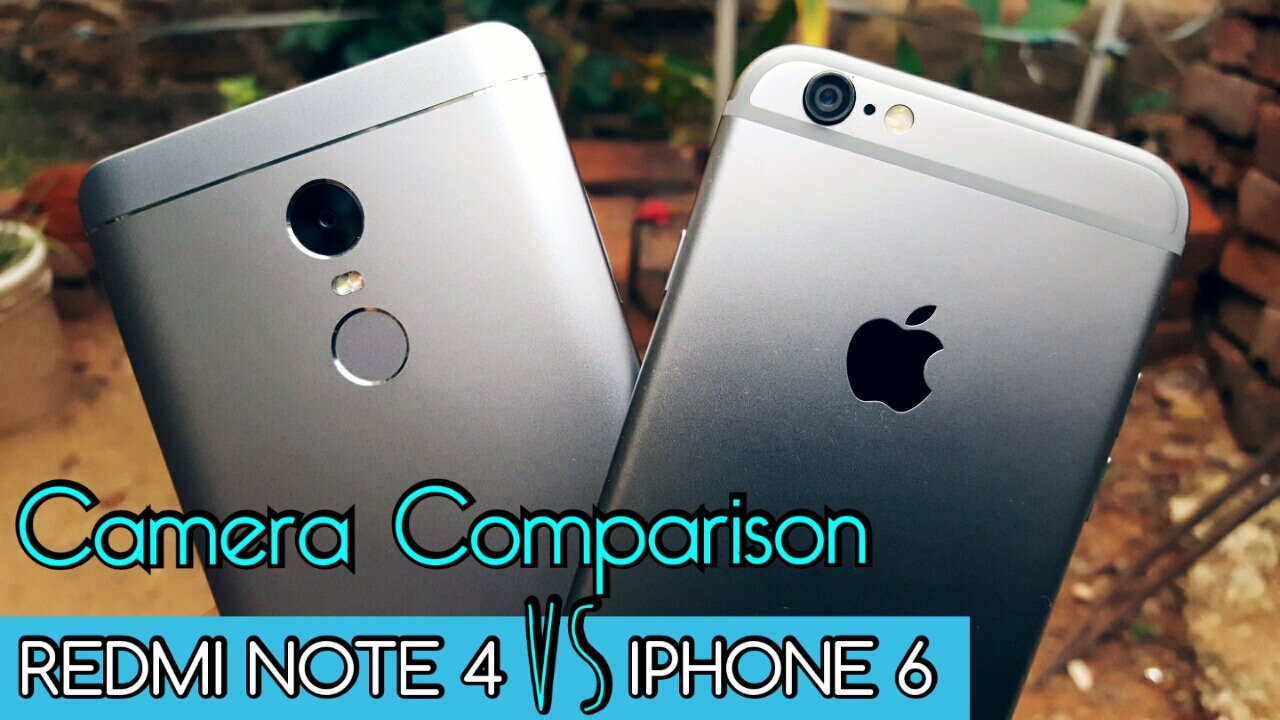 Xiaomi redmi note 4 vs iphone 5s