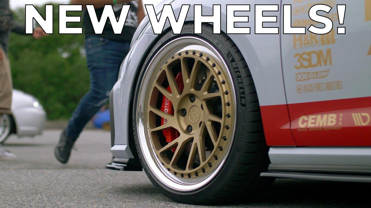 2018 Vw Gti Mk7 5 We Got New Wheels Youtube